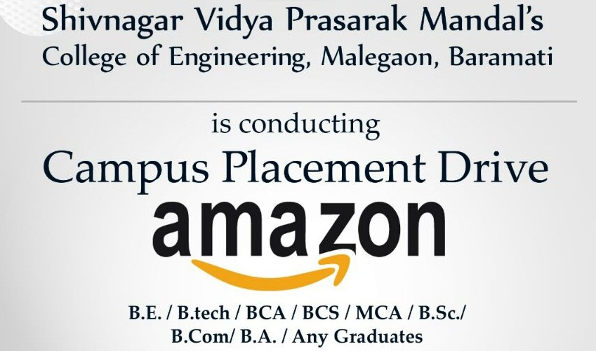 Campus drive of Amazon